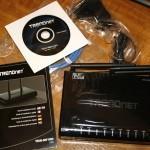 Contenido de la caja del router TRENDnet TEW-691GR