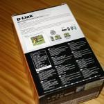 Vista trasera de la caja de la D-Link DCS-930L