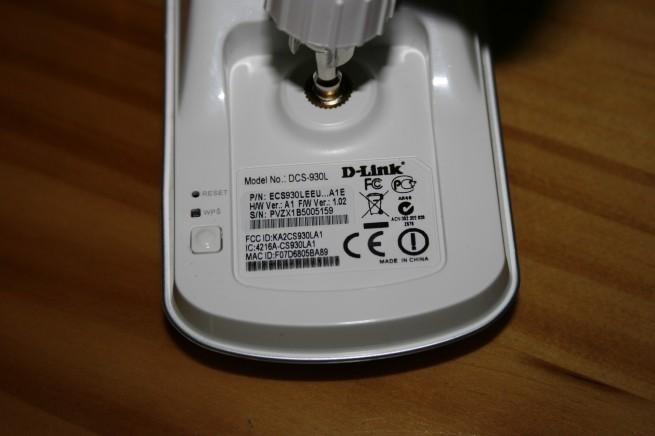 WPS de la D-Link DCS-930L