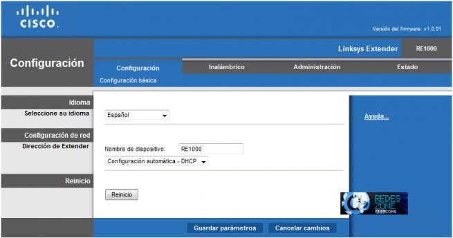 Cisco Linksys RE1000 : Análisis de este repetidor Wi-Fi N a