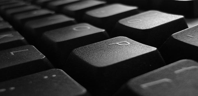Un teclado controlado por un Keylogger