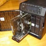Vista de los discos duros del Sentinel DX4000