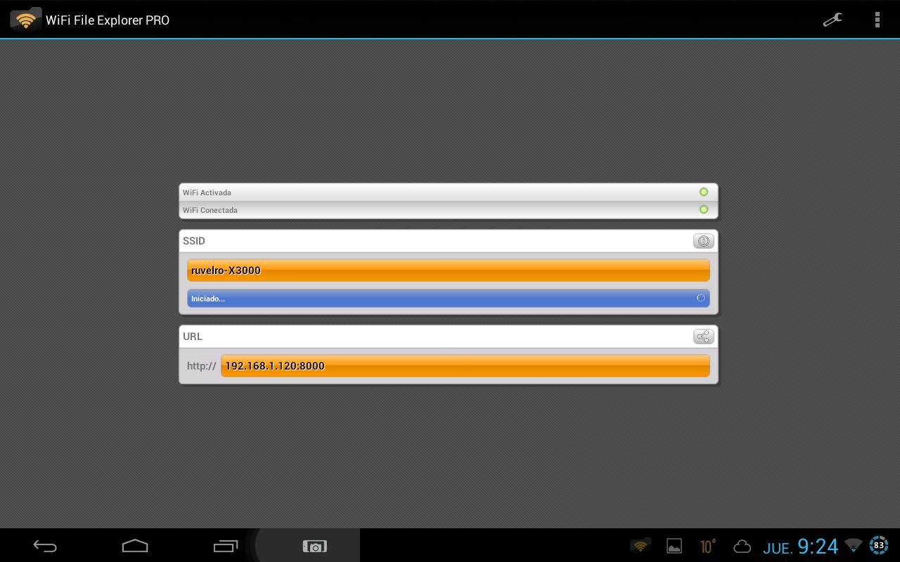 Cómo utilizar Wi-Fi File Explorer para acceder a nuestros