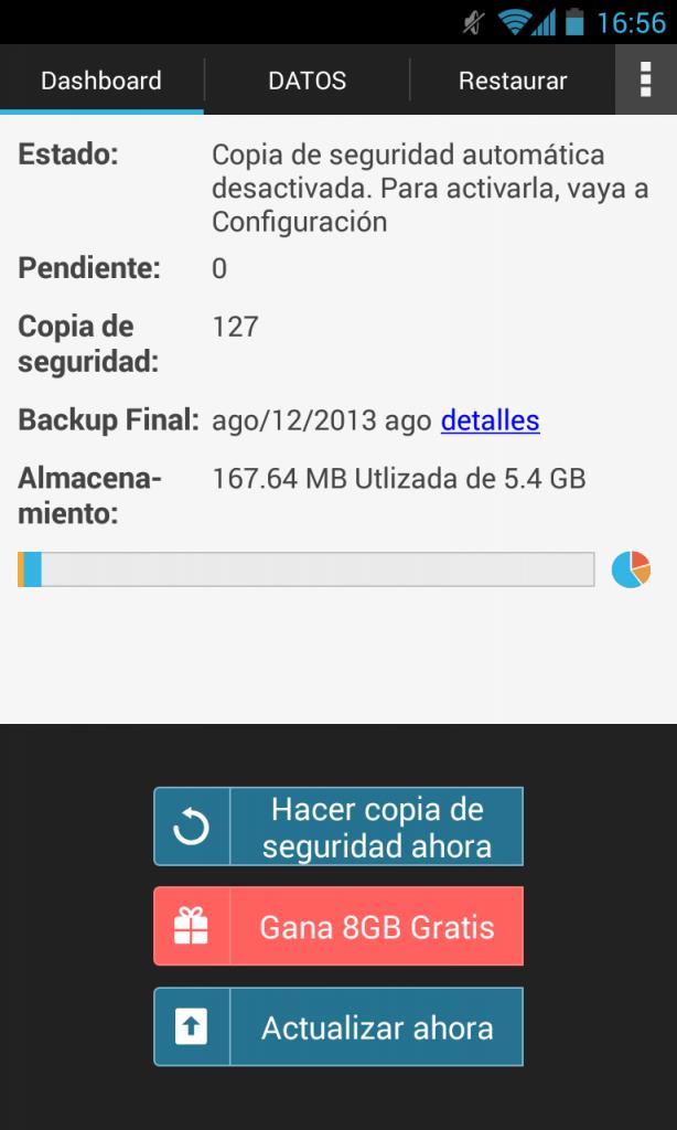 G cloud backup para android apk
