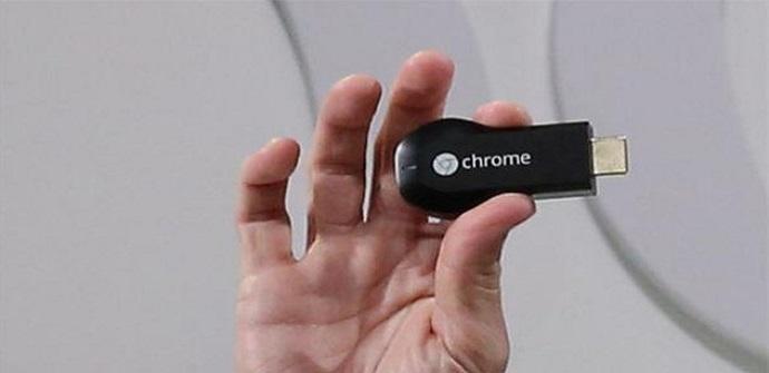 Tamaño de Chromecast