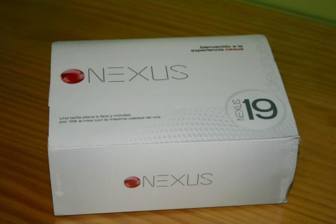 Vista frontal del servicio Oceans Nexus 19