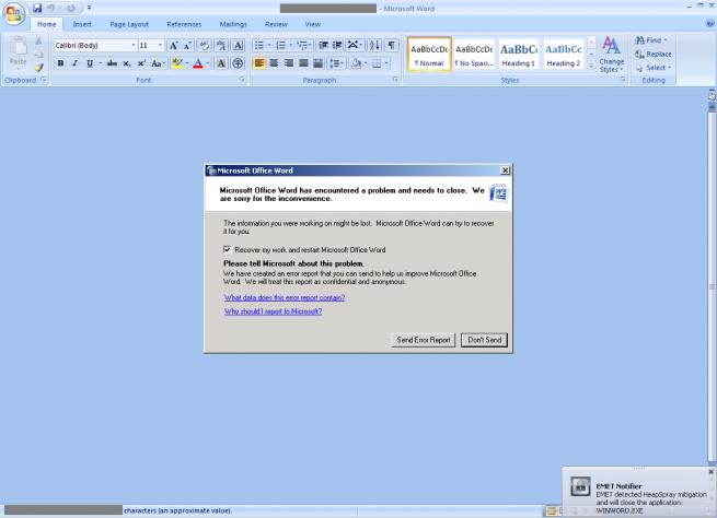 Microsoft Zero Day Office Suite