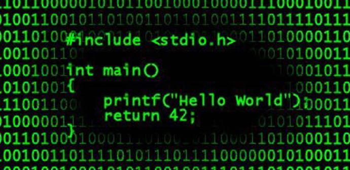 Sencillo programa en C