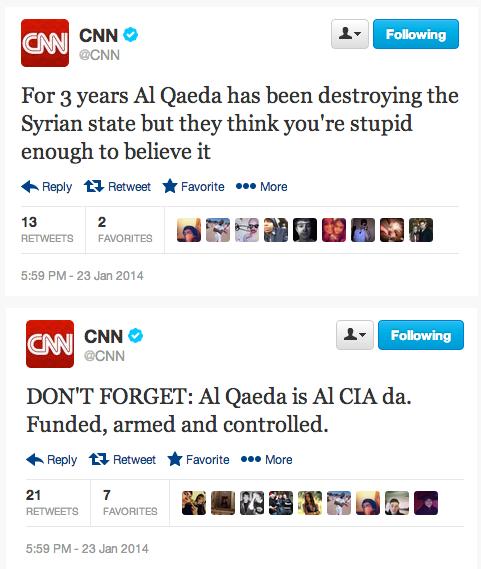 CNN Twitter hacked
