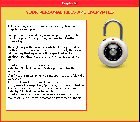 CryptorBit Ransomware
