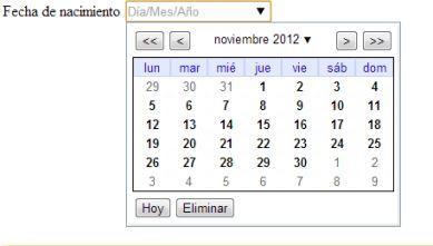 curso de html y css fechas