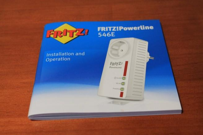 Manual de instrucciones del FRITZ! Powerline 546E