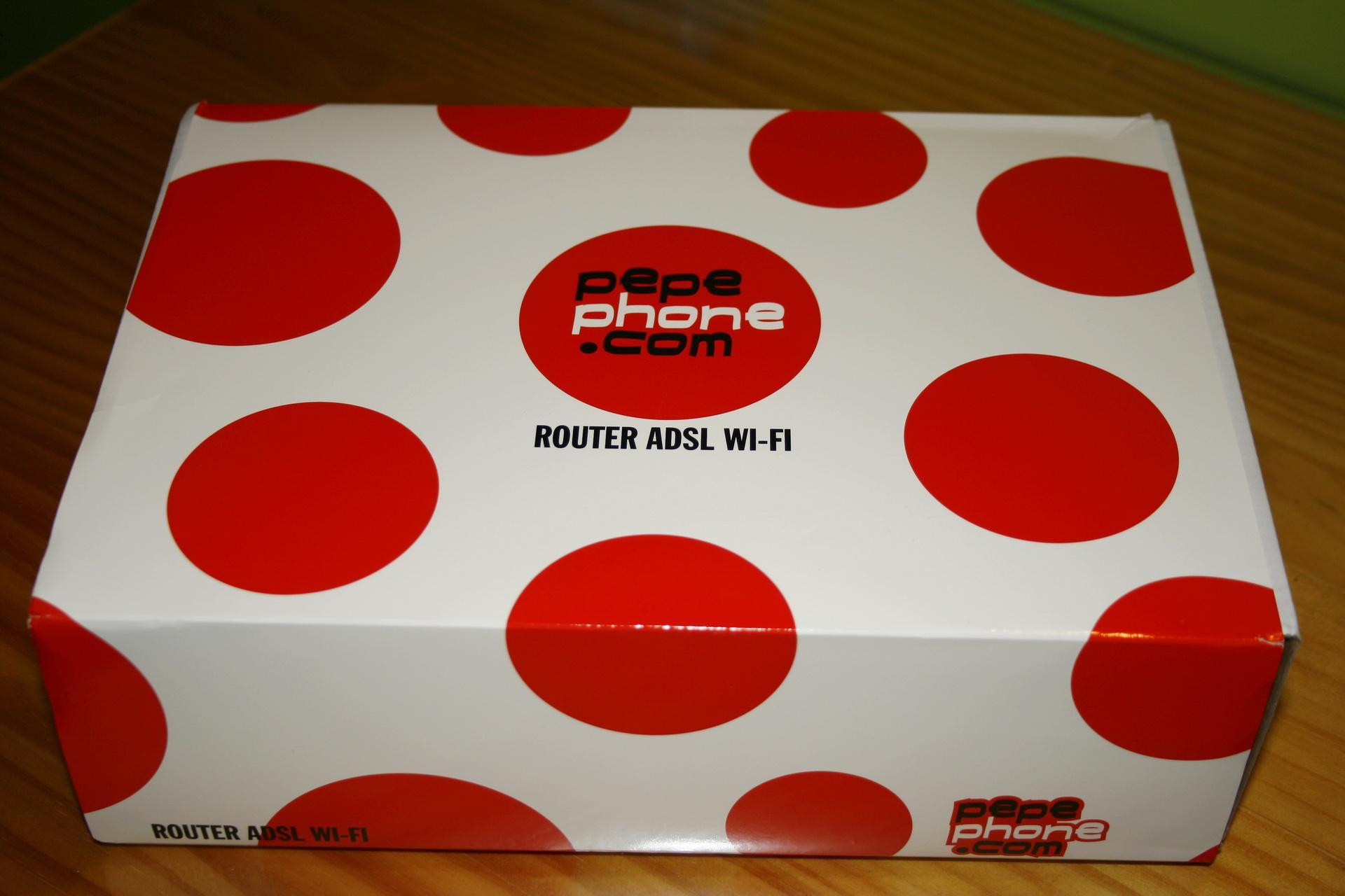 Vista superior de la caja del NuCom NU-GAN5 de Pepephone