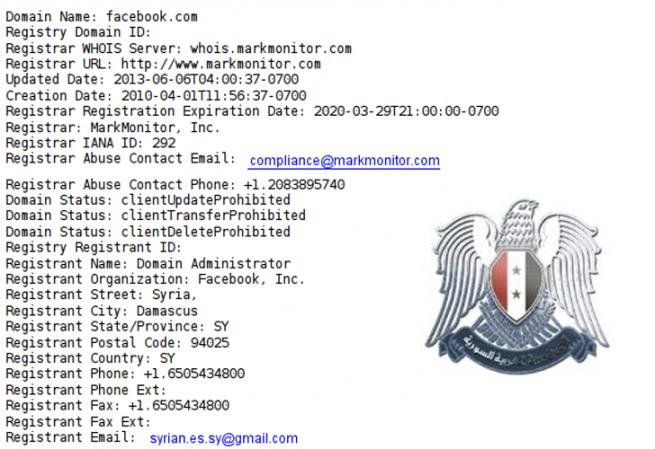 Facebook_hackeado_dominio_Syrian Electronic Army