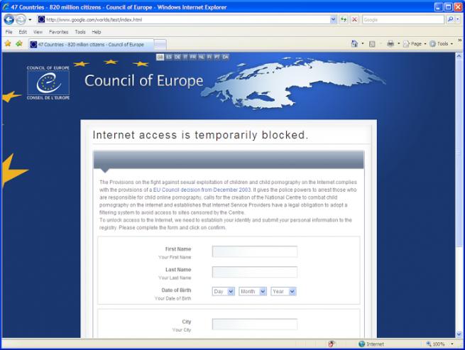 Linkup malware cambia las DNS