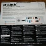 Vista trasera de la caja de la D-Link DCS-933L