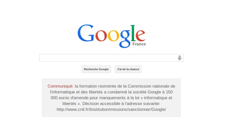 google francia sentencia