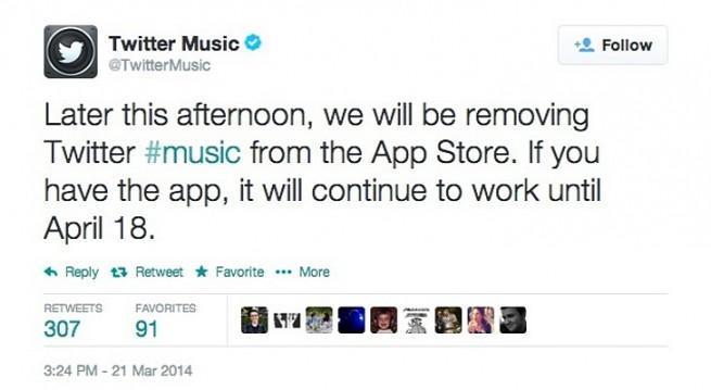 twitter music cierra de forma definitiva