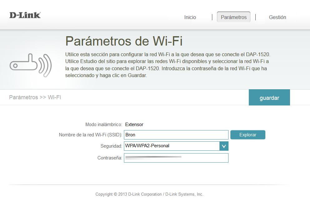dap 1520 firmware