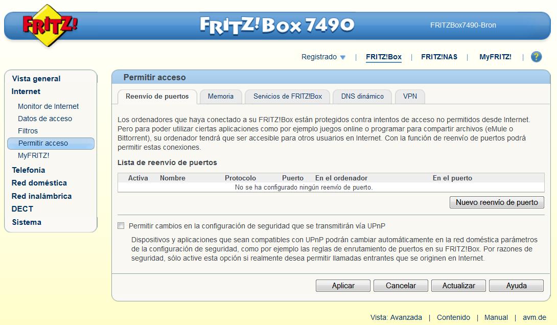 fritz box 7490 an lisis de este router con wi fi ac y usb 3 0. Black Bedroom Furniture Sets. Home Design Ideas