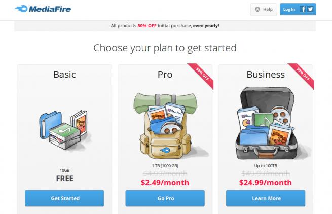 mediafire_nuevos_precios