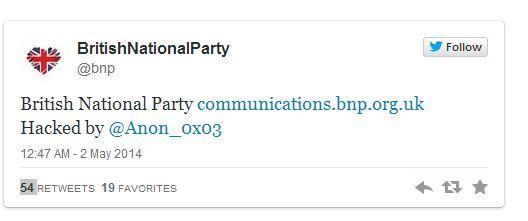 Anonymous hackeo BNP