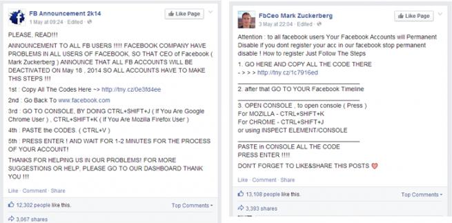 bulo en facebook cierre de la cuenta