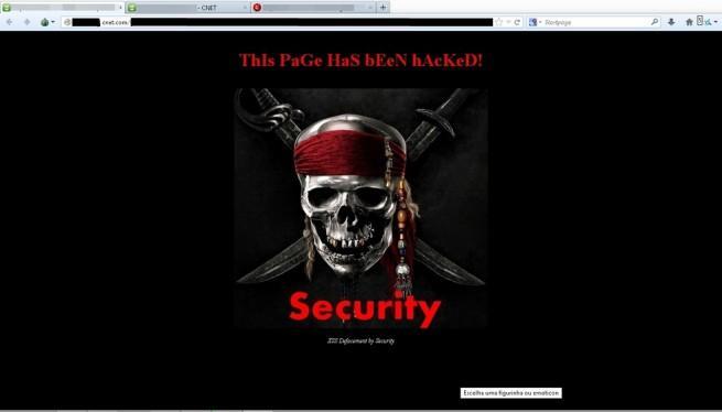 ejemplo hackeo XSS Cnet