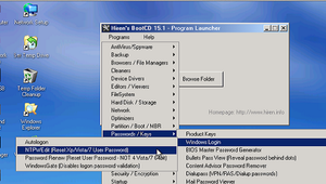 Manual para instalar Hiren´s Boot en un pendrive bootable