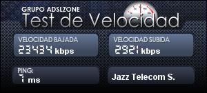 jazztel_vdsl_test30Megas_fastpath
