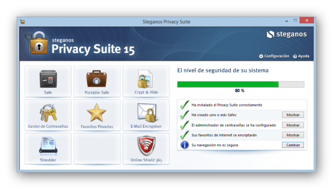 Steganos Privacy Suite 15 analisis foto 19