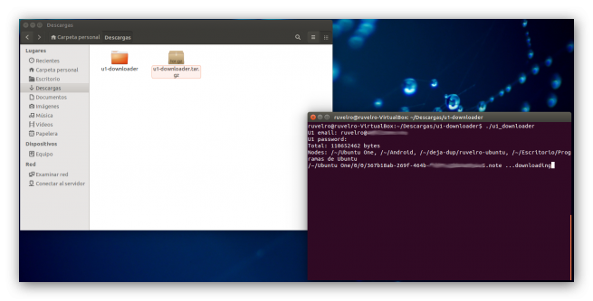 Ubuntu One Downloader foto 2