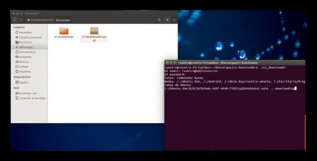 Ubuntu One Downloader foto 2