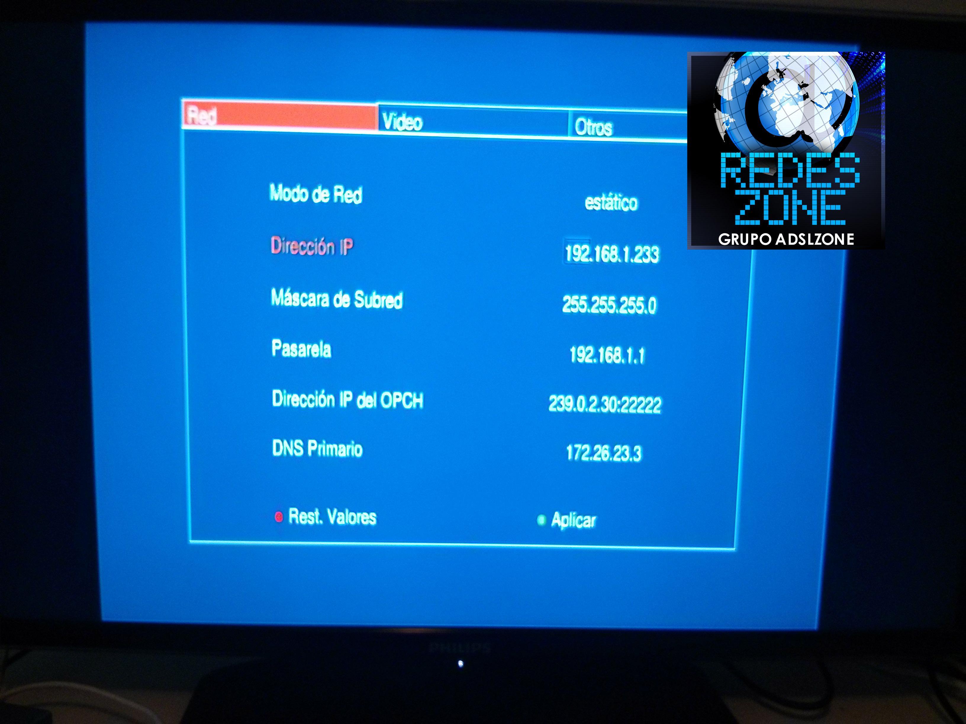 Cómo configurar IPTV (Movistar TV) del FTTH de Movistar utilizando