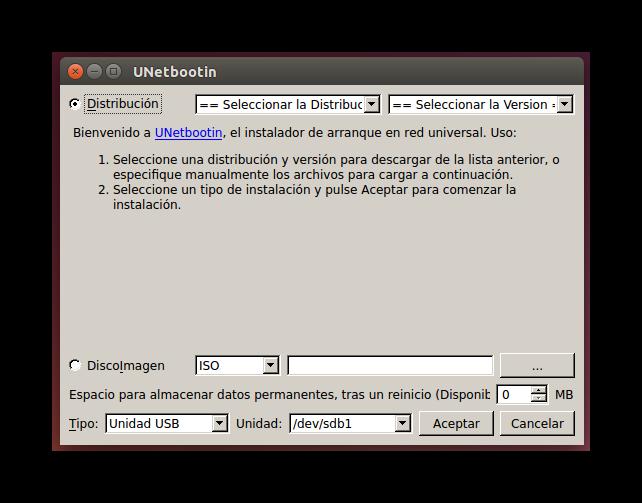 Unetbootin_copiar_tails_linux_foto_1