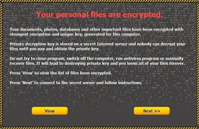 critroni malware cifra archivos