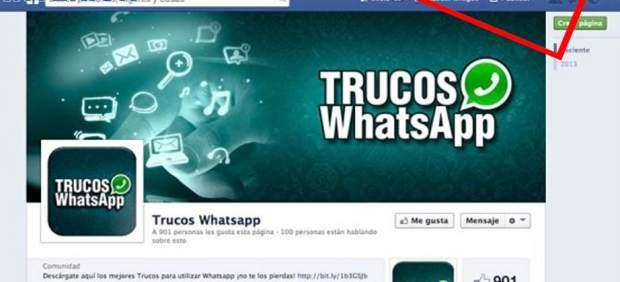 facebook estafas whatsapp