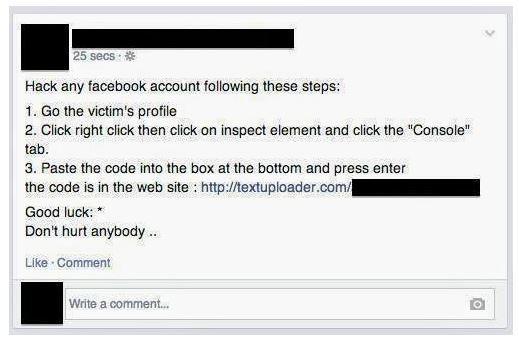 facebook hackear cuentas de usuario falso