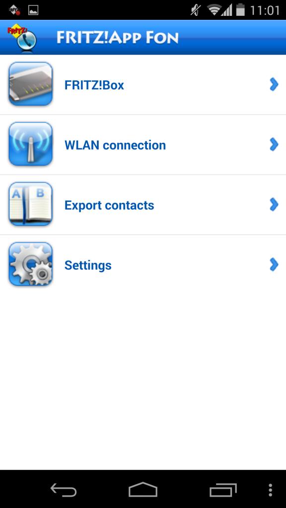 Utilización de FRITZ!App Fon 3
