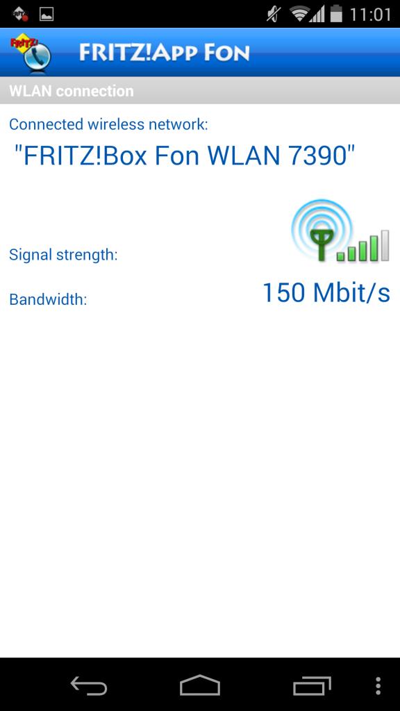 Utilización de FRITZ!App Fon 5