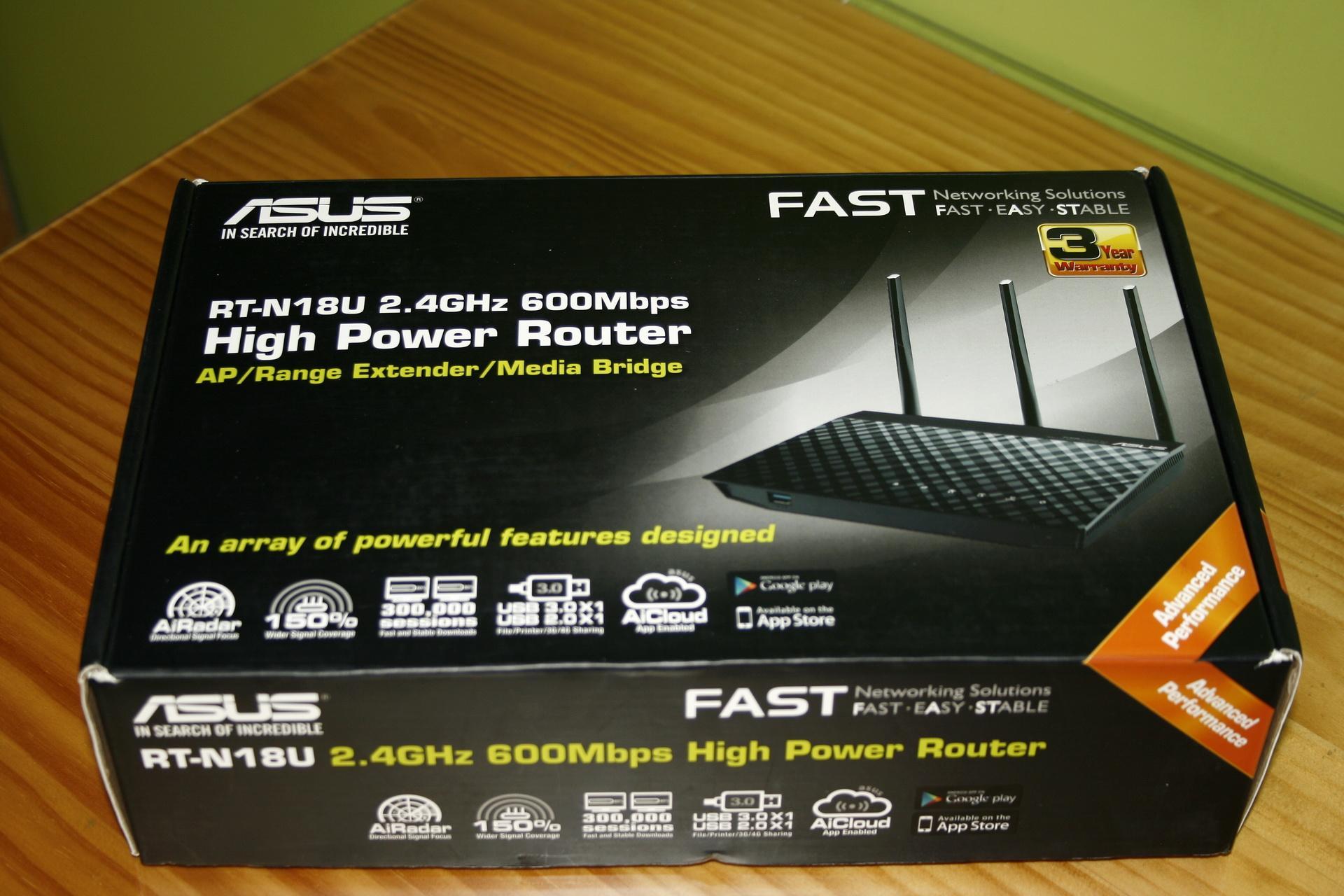 ASUS RT-N18U N600: Análisis de este router neutro con puertos ...