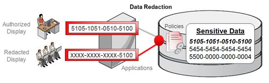 data redaction oracle foto