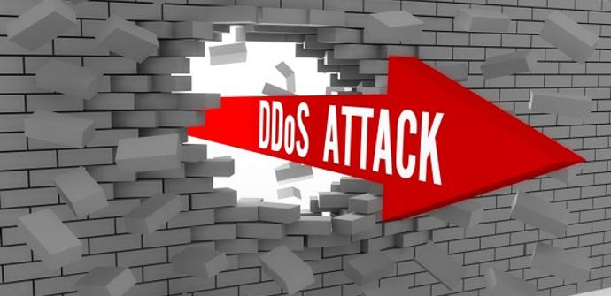 Un ataque DDoS atravesando un firewall