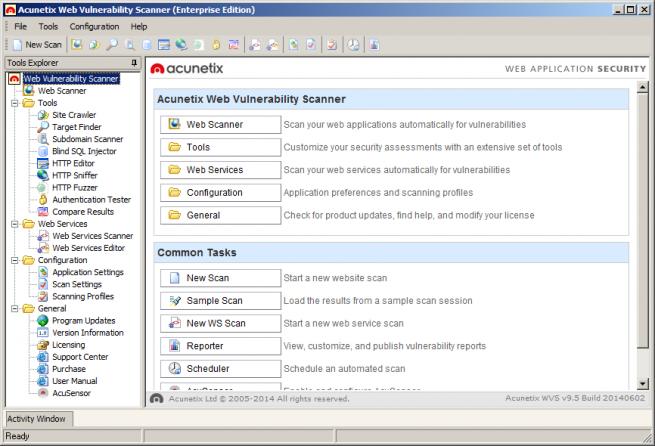 Acunetix Web Vulnerability foto 1