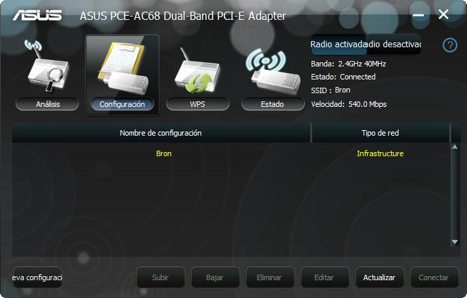ASUS PCE-AC68 AC1900: Análisis de esta tarjeta Wi-Fi PCI Express