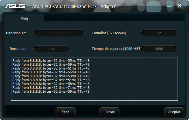 ASUS PCE-AC68 Software