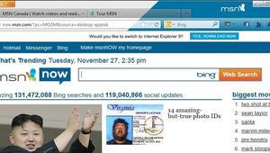 La página principal de MSN sufre un lavado de cara