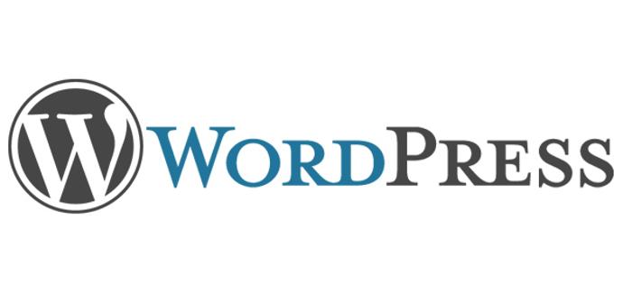 Logotipo y título de Wordpress