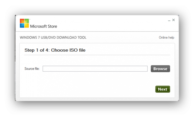 Windows 7 USB DVD Download Tool Foto 1