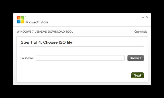 C mo crear una memoria usb de instalaci n de windows 7 y for Window usb tool